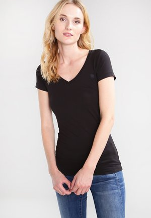 BASE V T WMN CAP SL - T-shirt - bas - black