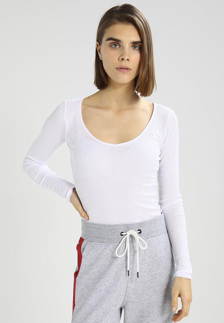 G-Star - WYVER SLIM - Long sleeved top - white