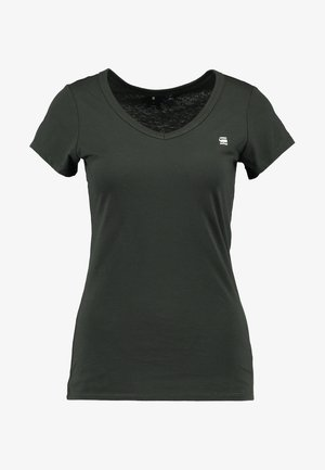 EYBEN SLIM - T-shirt basic - asfalt