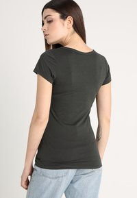 G-Star - EYBEN SLIM - T-shirt - bas - asfalt - 2