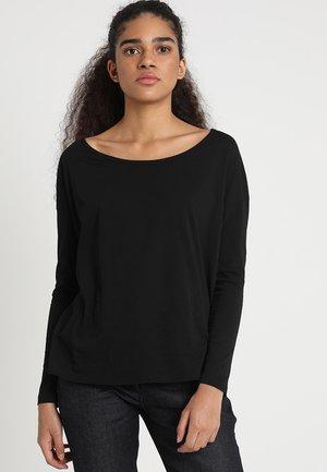LAJLA NEW R T WMN L/S - Long sleeved top - dk black-6484