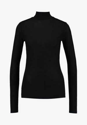 HIKA SLIM FUNNEL T WMN L/S - Long sleeved top - black