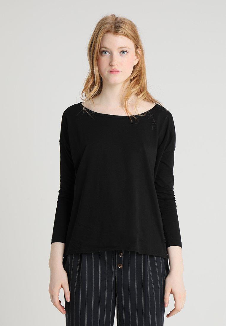 G-Star - LAJLA R T WMN L\S - Long sleeved top - dk black