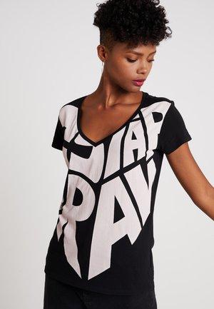 GRAPHIC 50 V T WMN S\S - Print T-shirt - black