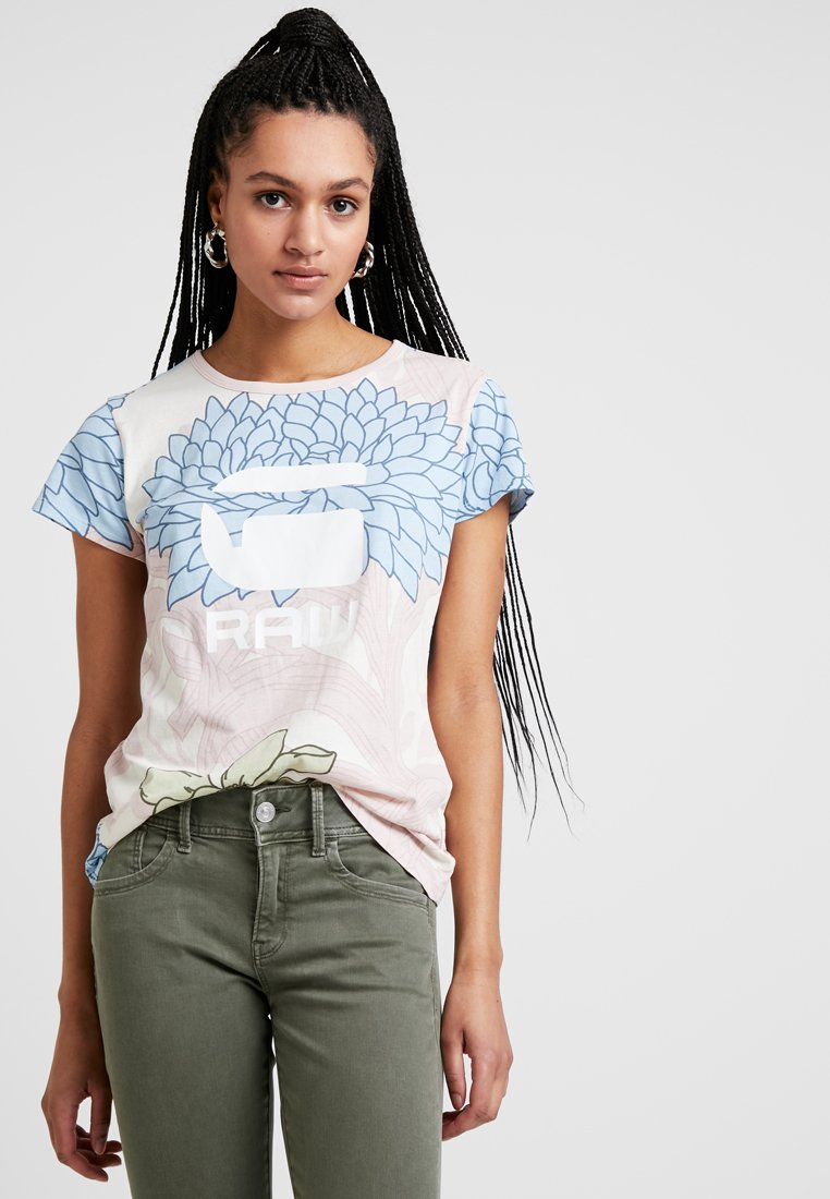 G-Star - LINDELLY R T WMN S\S - T-Shirt print - off white