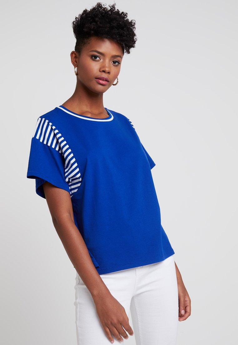 G-Star - NORCIA LOOSE R T WMN S\S - T-Shirt print - blue