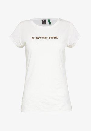 EYBEN SLIM - T-shirt - bas - milk