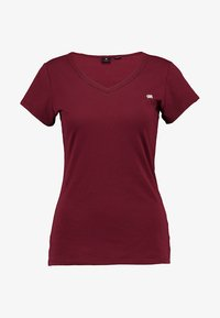 G-Star - EYBEN SLIM - T-shirt basique - bright russet - 4