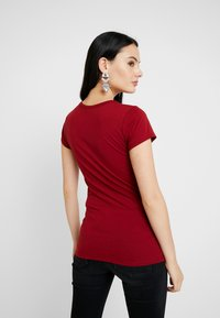 G-Star - EYBEN SLIM - T-shirt - bas - dry red - 2