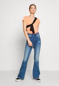 G-Star - EYBEN SLIM - T-shirt basique - tangerine - 1