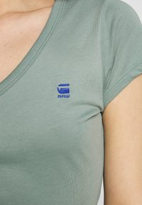 G-Star - EYBEN SLIM - T-shirt - bas - dusty green - 5
