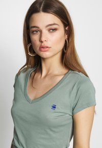 G-Star - EYBEN SLIM - T-shirt - bas - dusty green - 3