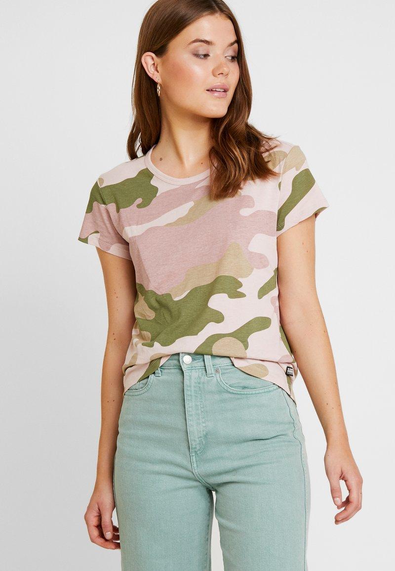G-Star - CAMO R T WMN S\S - Print T-shirt - khaki/multi-coloured