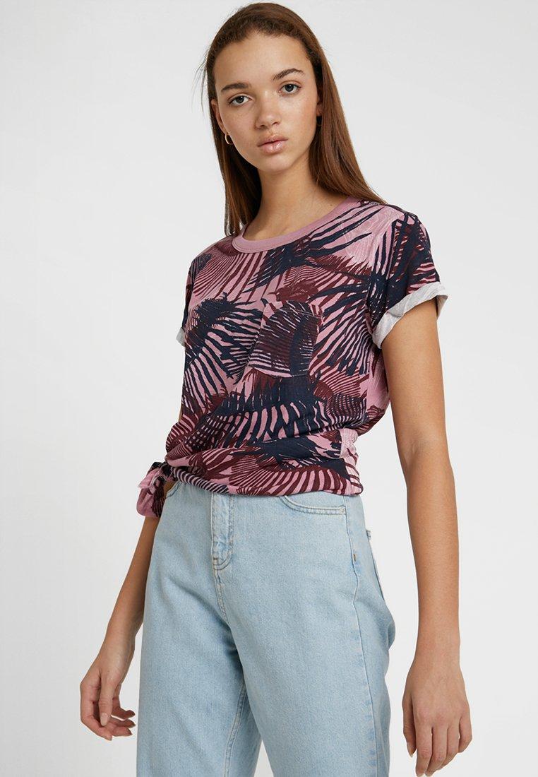 G-Star - YIVA - T-shirts print - milk/deep ginger