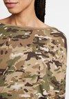 G-Star - VIM LOOSE - Print T-shirt - khaki/army green
