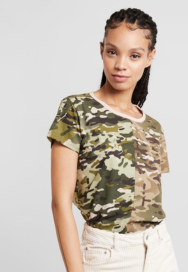 G-Star - GYRE - T-Shirt print - khaki/army green