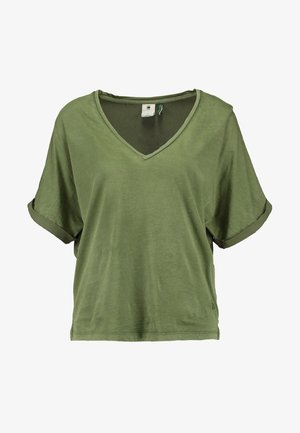 JOOSA - Print T-shirt - sage