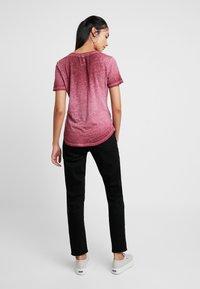 G-Star - MYSID OPTIC SLIM - T-shirt imprimé - port red - 2