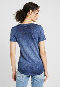 G-Star - MYSID OPTIC SLIM - T-shirt med print - sartho blue - 2