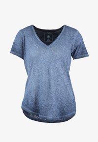 G-Star - MYSID OPTIC SLIM - T-shirt med print - sartho blue - 4