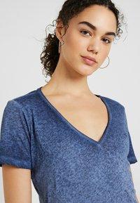G-Star - MYSID OPTIC SLIM - T-shirt med print - sartho blue - 3