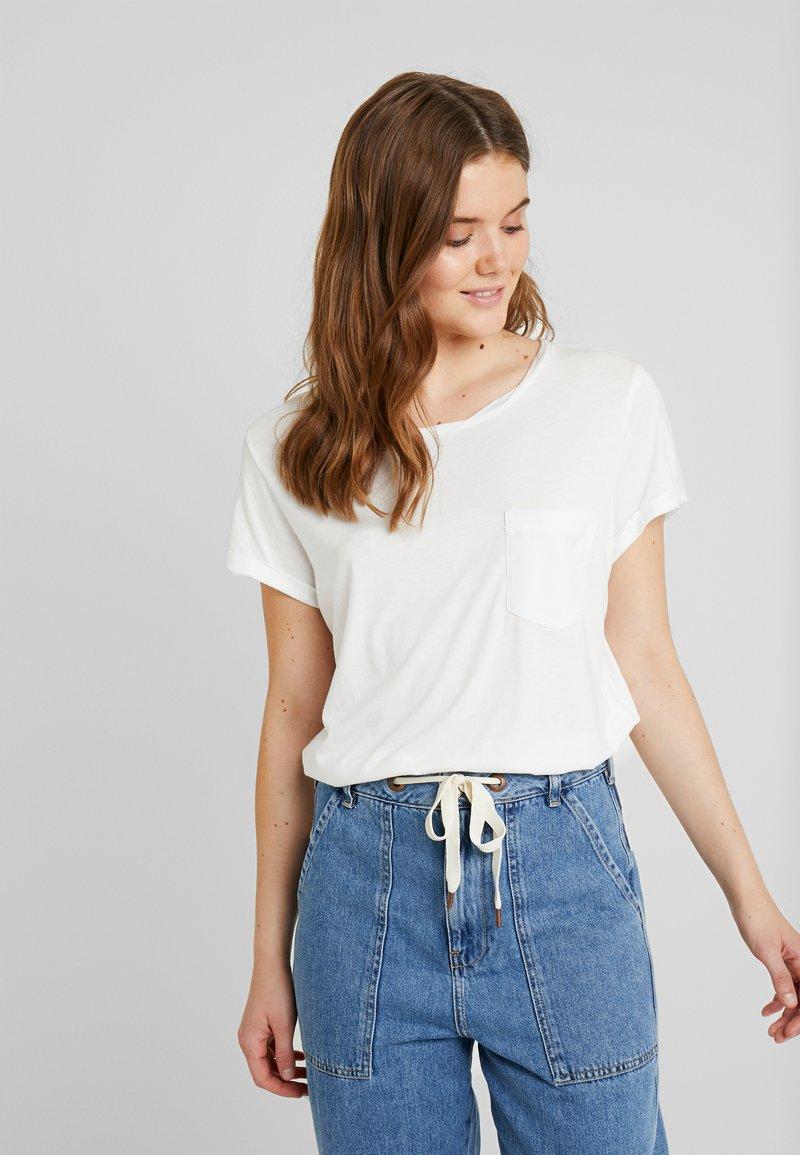 G-Star - CAIRN LOOSE - T-shirts - milk