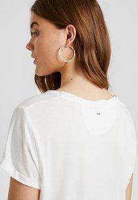 G-Star - CAIRN LOOSE - T-shirts - milk - 5