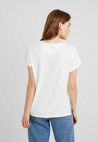 G-Star - CAIRN LOOSE - T-shirts - milk - 2