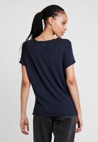 G-Star - CAIRN LOOSE R T WMN S\S - T-shirt - bas - mazarine blue - 2