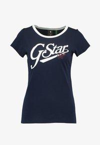 G-Star - GRAPHIC 27 SLIM R T WMN S\S - Print T-shirt - sartho blue - 3