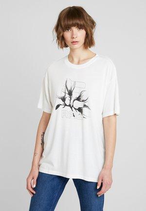 RIJKS GRAPHIC 21 BF R T WMN S\S - T-shirt imprimé - milk