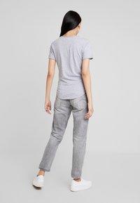 G-Star - GRAPHIC OPTIC SLIM - Print T-shirt - grey heather - 2
