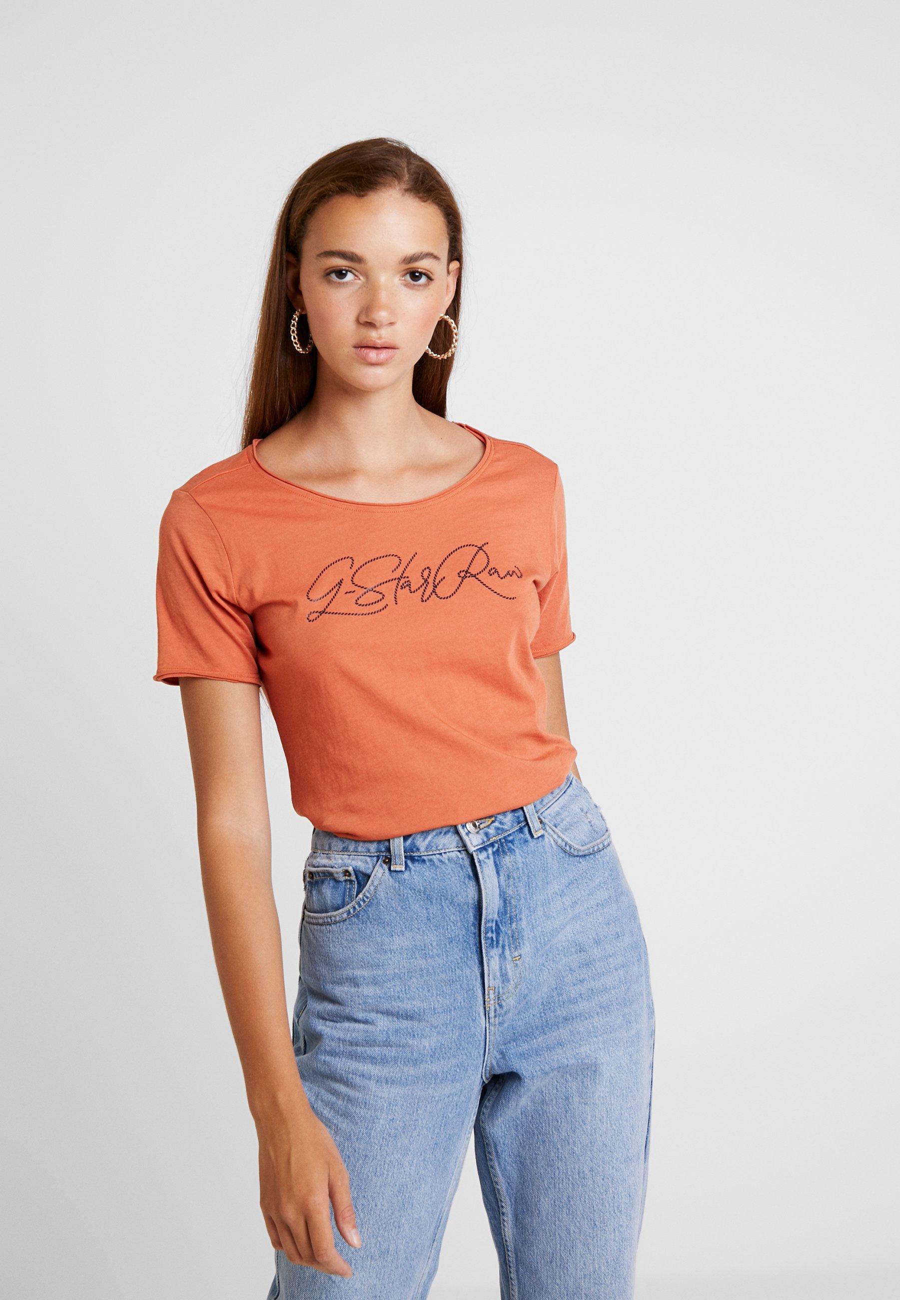 SlimT shirt Royal Optic Orange Imprimé G Dusty star Graphic 08wknOP