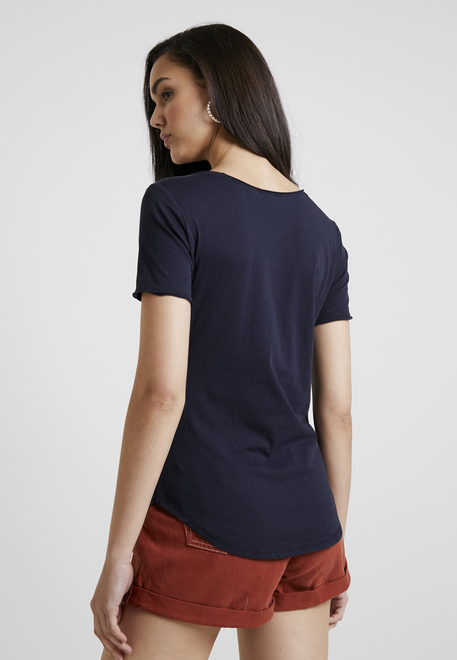 SlimT Imprimé Mazarine Graphic G star Blue shirt Optic BWQrCdexo