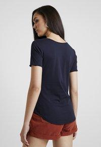 G-Star - GRAPHIC OPTIC SLIM - T-shirt med print - mazarine blue - 2