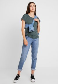 G-Star - CAPER KNOTTED - T-shirt med print - balsam/black - 1