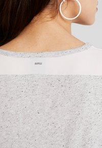 G-Star - CAPER KNOTTED - T-shirts med print - milk/black - 3