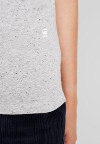 G-Star - CAPER KNOTTED - T-shirts med print - milk/black - 6