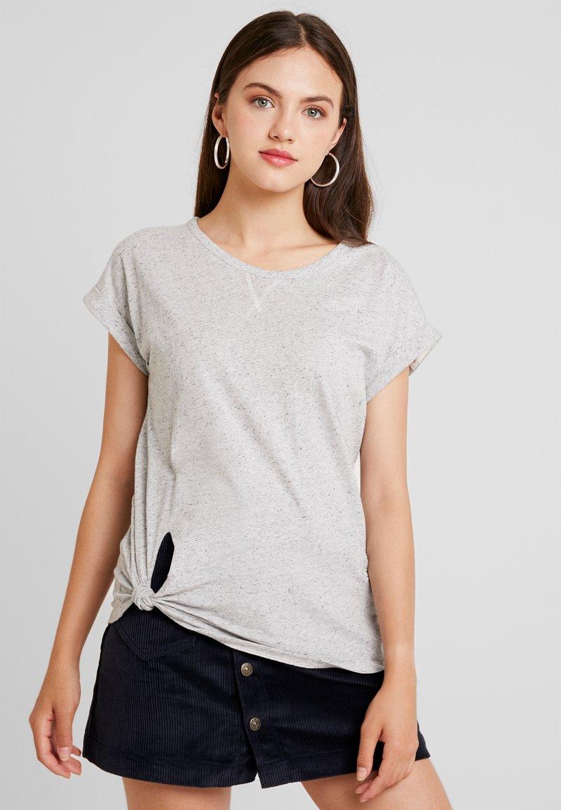 G-Star - CAPER KNOTTED - T-shirts med print - milk/black