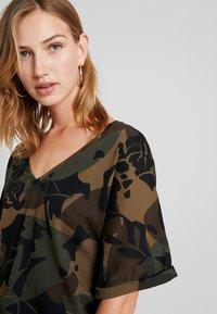 G-Star - JOOSA  - Print T-shirt - wild olive/forest night - 4