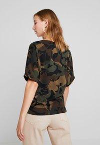G-Star - JOOSA  - Print T-shirt - wild olive/forest night - 2