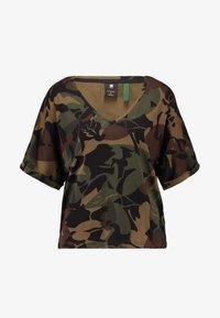 G-Star - JOOSA  - Print T-shirt - wild olive/forest night - 3