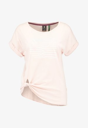 GRAPHIC 23 CAPER KNOTTED - T-shirts print - rose