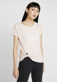 G-Star - GRAPHIC 23 CAPER KNOTTED - T-shirts med print - rose - 0