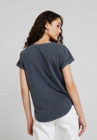 G-Star - RIE GRANDDAD PKT T WMN S/S - Print T-shirt - mazarine blue - 2