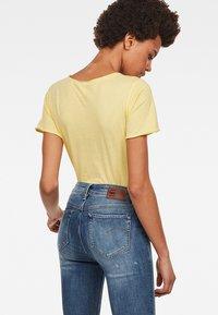 G-Star - Graphic LogoMysid Slim - T-shirt imprimé - lemonade - 1