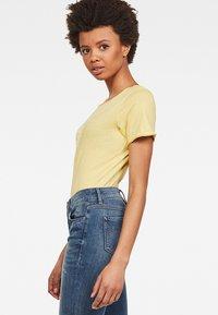 G-Star - Graphic LogoMysid Slim - T-shirt imprimé - lemonade - 3