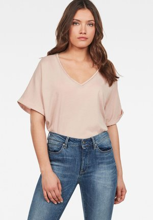 JOOSA - Basic T-shirt - liquid pink