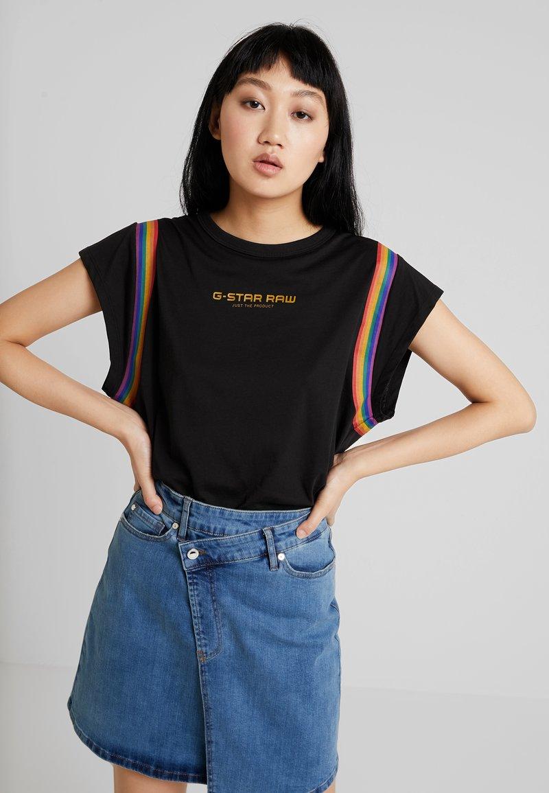 G-Star - GRAPHIC PRIDE - T-Shirt print - black