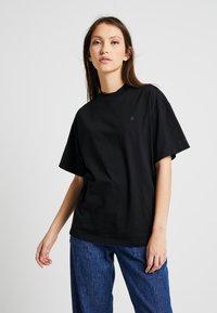 G-Star - DISEM - Basic T-shirt - black - 0